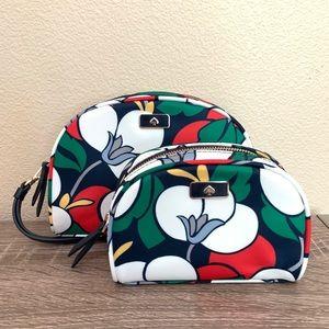 Kate Spade ♠️ floral cosmetic bag bundle